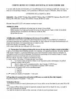 COMPTE RENDU CM DU 04 DECEMBRE 2018