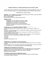 COMPTE RENDU CM DU 29 juillet 2019