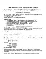 COMPTE RENDU CM DU 8 octobre 2019